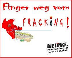 finger weg vom fracking