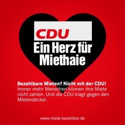 CDU eine herz